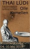 """In der Kunsttankstelle 04. - 10.05.: Thai Lüdi: """"Olle Kamellen"""" - eine Retrospektive in Form von Malerei, Zeichnung und Plakat"""